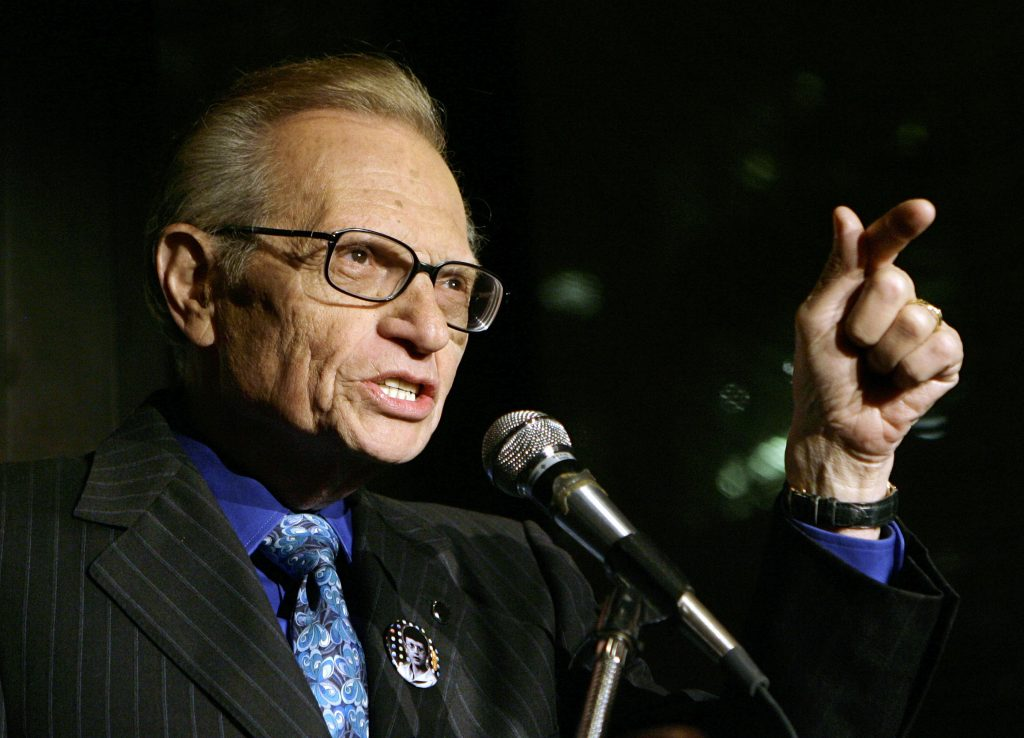 Larry King passes on